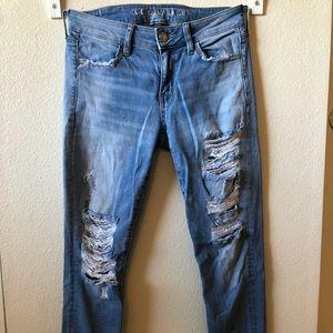 Women size 4 Short super stretch skinny jeans